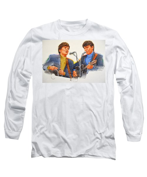 Its Rock And Roll 4  - Everly Brothers Long Sleeve T-Shirt
