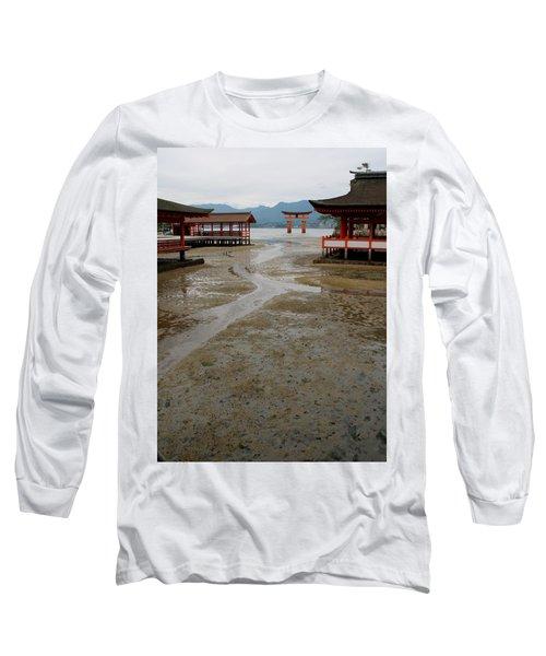 Itsukushima Shrine And Torii Gate Long Sleeve T-Shirt