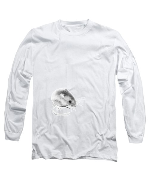 Itty Bitty Mouse Long Sleeve T-Shirt