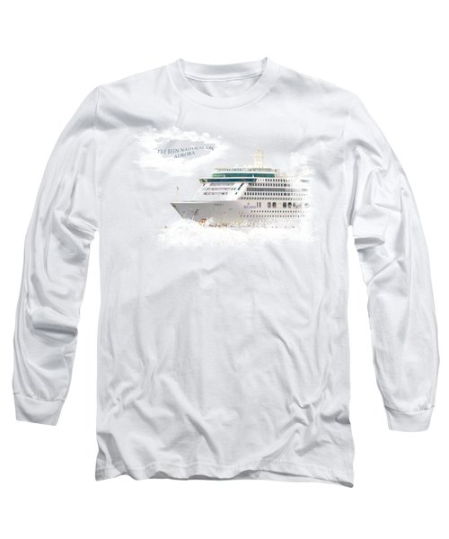 I've Been Nauticle On Aurora On Transparent Background Long Sleeve T-Shirt