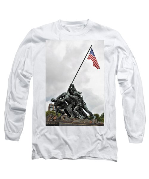 Iwo Jima Memorial Long Sleeve T-Shirt