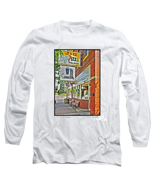 J And G Pizza Palace Long Sleeve T-Shirt