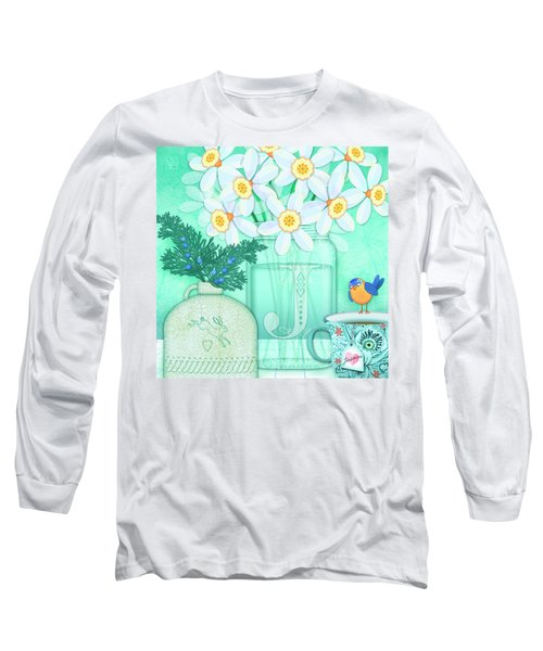 J Is For Jar Of Jonquils Long Sleeve T-Shirt