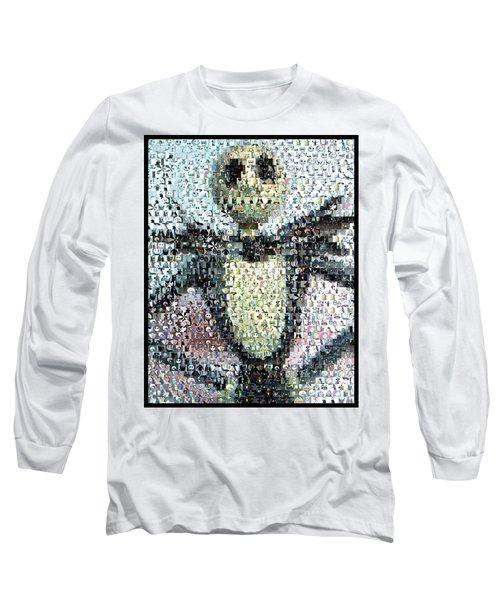 Jack Skellington Mosaic Long Sleeve T-Shirt
