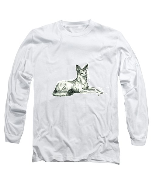 Jackal Sketch Long Sleeve T-Shirt