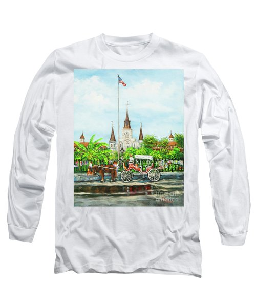 Jackson Square Carriage Long Sleeve T-Shirt
