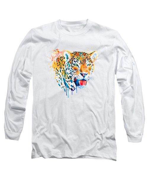 Jaguar Head Long Sleeve T-Shirt