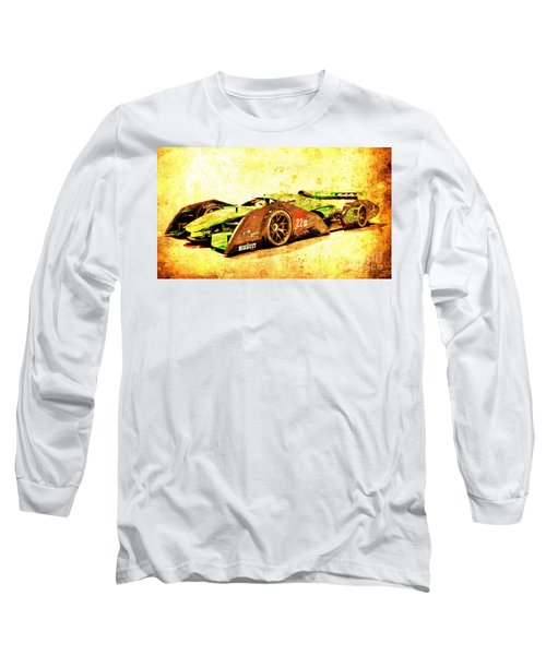Jaguar Le Mans 2015, Race Car, Fast Car, Gift For Men Long Sleeve T-Shirt