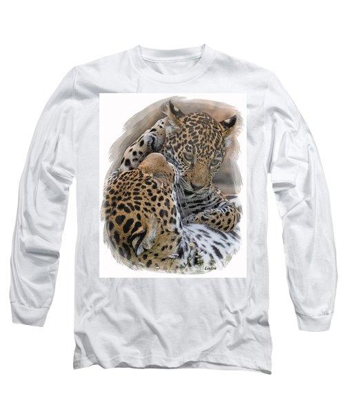 Jaguar Mother And Cub 4 Long Sleeve T-Shirt