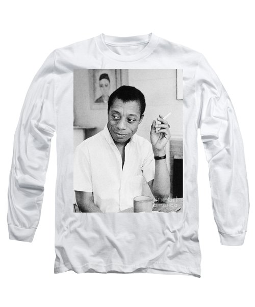 James Baldwin (1924-1987) Long Sleeve T-Shirt