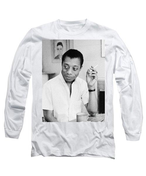 James Baldwin Long Sleeve T-Shirt