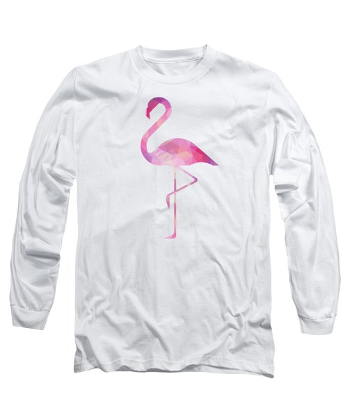 James's Flamingo Long Sleeve T-Shirt