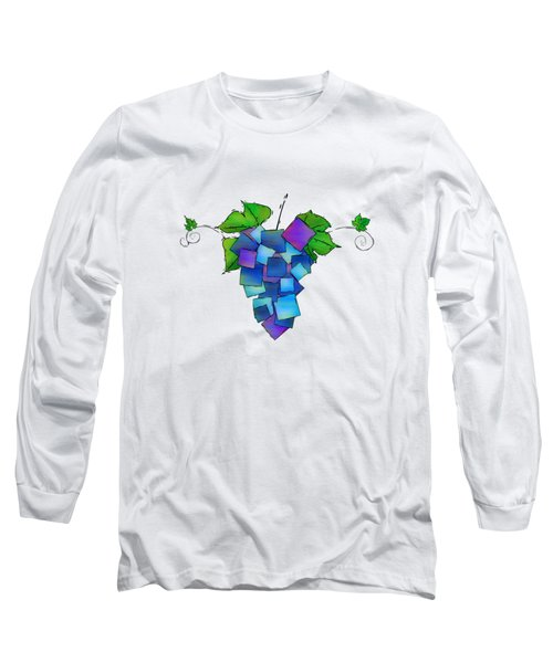 Jamurissa - Square Grapes Long Sleeve T-Shirt by Cersatti