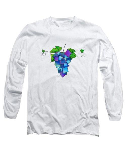Jamurissa - Square Grapes Long Sleeve T-Shirt