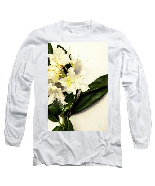 Japanese Flower Art Long Sleeve T-Shirt