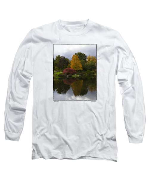 Japanese Garden Long Sleeve T-Shirt by R Thomas Berner