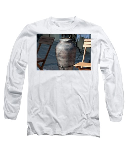 Long Sleeve T-Shirt featuring the photograph Jar by Bruno Spagnolo