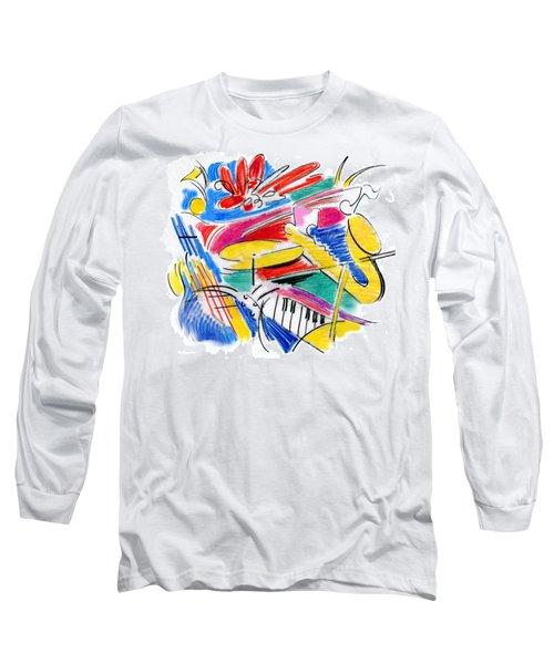Jazz Art Long Sleeve T-Shirt