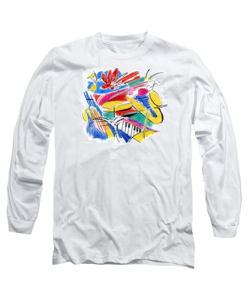 Jazz Art Long Sleeve T-Shirt