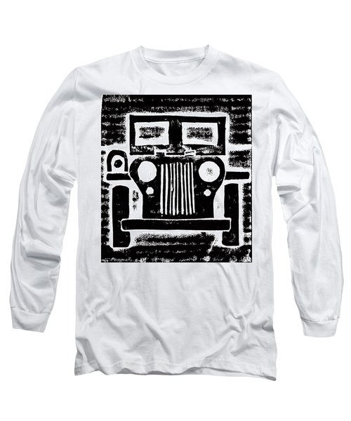 Jeep Long Sleeve T-Shirt by Jame Hayes
