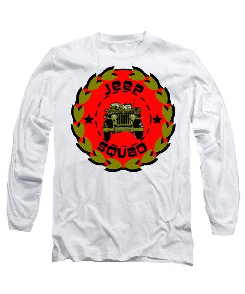 Jeep Squad Long Sleeve T-Shirt