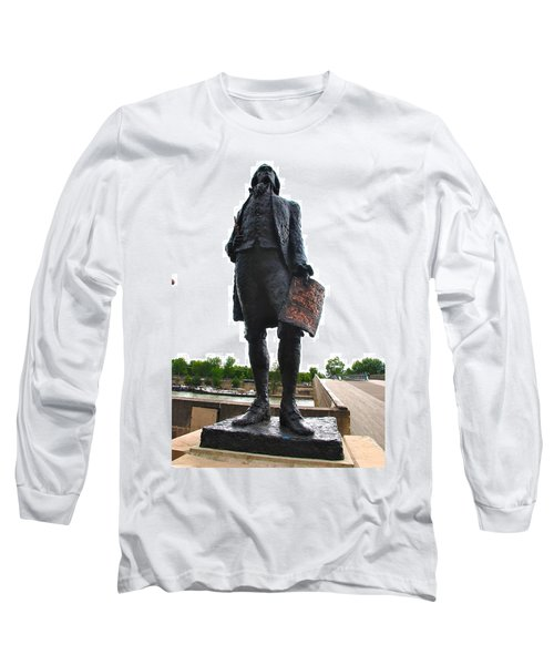 Jefferson In Paris Long Sleeve T-Shirt by Eric Tressler