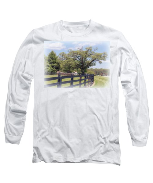 Jefferson Landing Series No. 1 Long Sleeve T-Shirt by Laura DAddona
