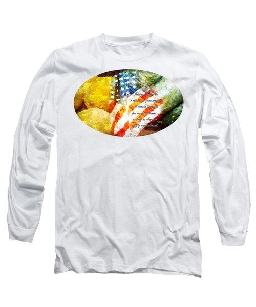 Jefferson's Farm Long Sleeve T-Shirt by Anita Faye