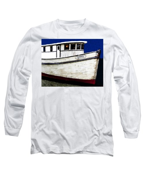 Jenny Long Sleeve T-Shirt by David Lee Thompson