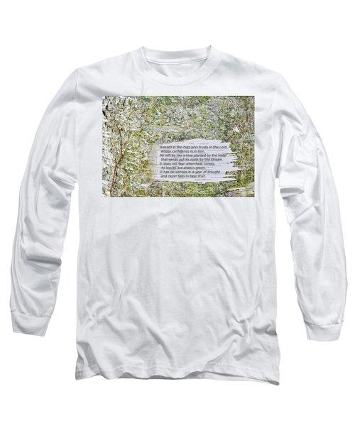 Jeremiah 17 Long Sleeve T-Shirt