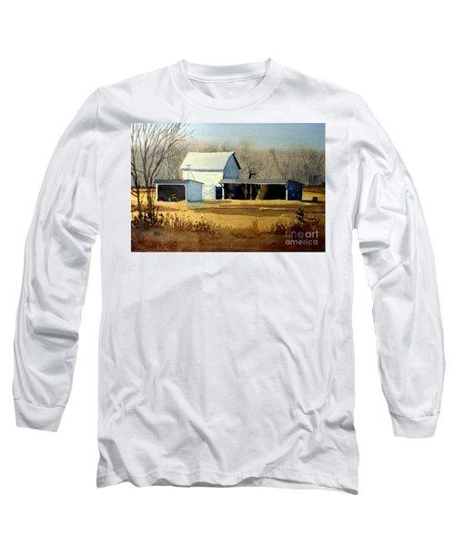 Jersey Farm Long Sleeve T-Shirt by Donald Maier