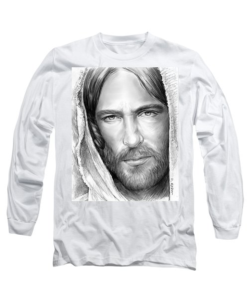 Jesus Face Long Sleeve T-Shirt