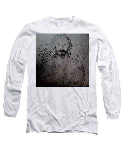 Jesus Light Of The World Full Long Sleeve T-Shirt