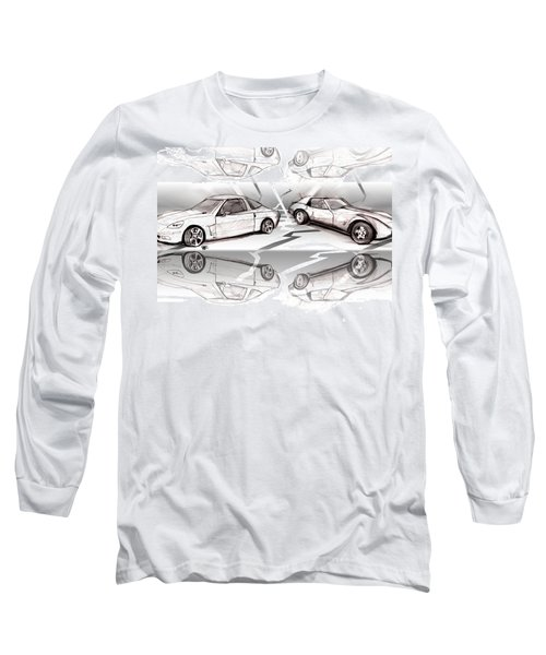 Jet Mikes Cars Long Sleeve T-Shirt