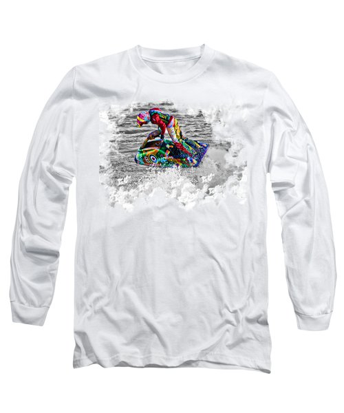 Jet Ski On Transparent Background Long Sleeve T-Shirt