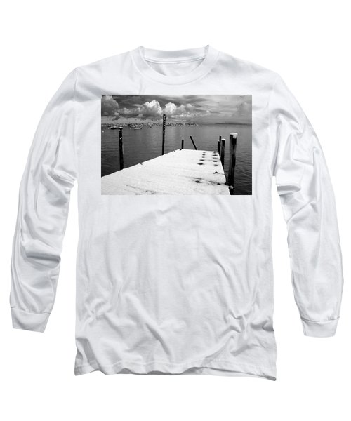 Jetty, Rhos-on-sea Long Sleeve T-Shirt