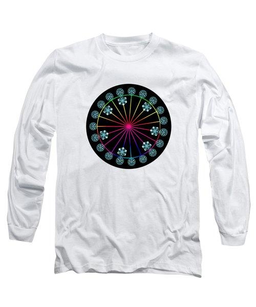 Jewish Calendar Long Sleeve T-Shirt