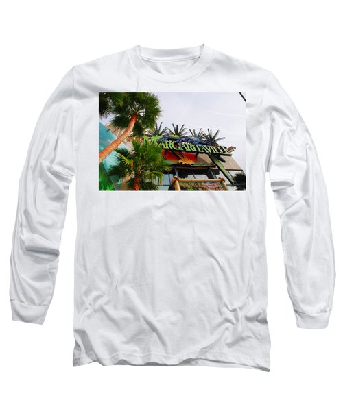 Jimmy Buffets Margaritaville In Las Vegas Long Sleeve T-Shirt
