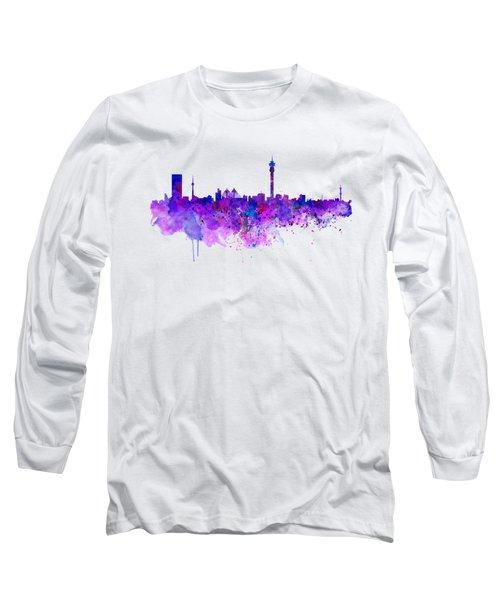 Johannesburg Skyline Long Sleeve T-Shirt