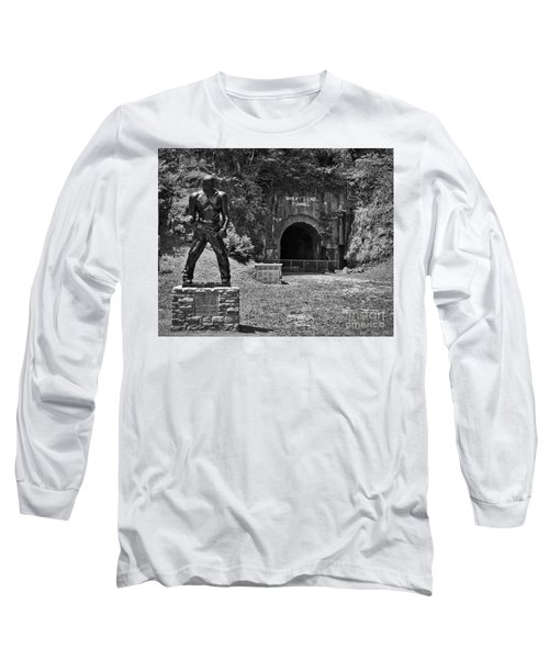 John Henry - Steel Driving Man Long Sleeve T-Shirt