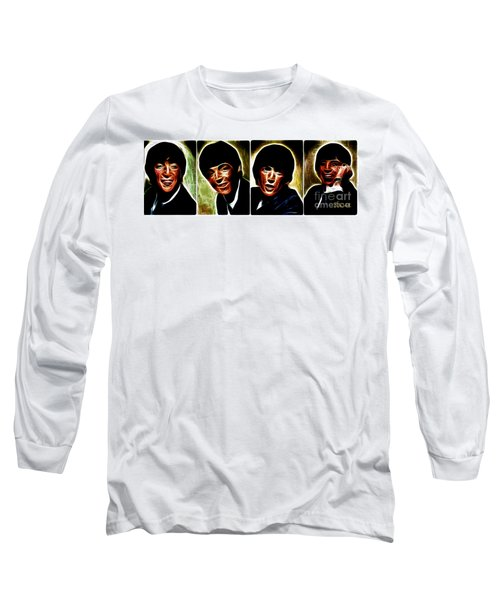 John, Paul, George And Ringo Long Sleeve T-Shirt