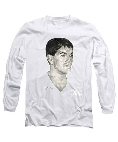 John Stockton Long Sleeve T-Shirt by Tamir Barkan