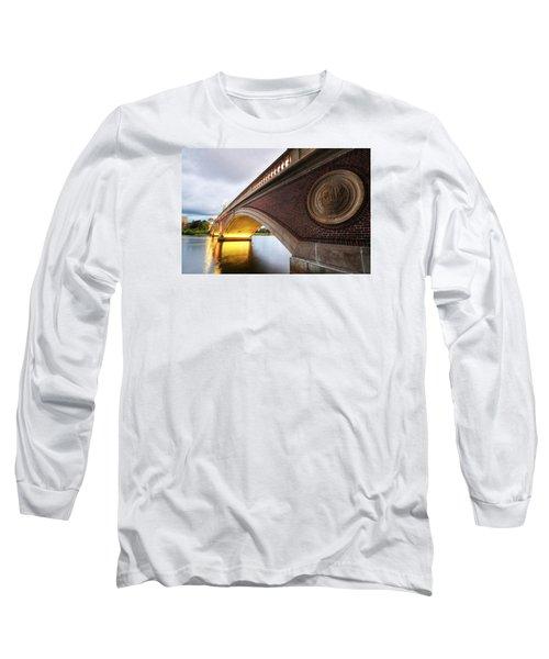 John Weeks Bridge Charles River Harvard Square Cambridge Ma Long Sleeve T-Shirt