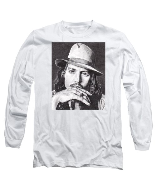 Johnny Depp Long Sleeve T-Shirt