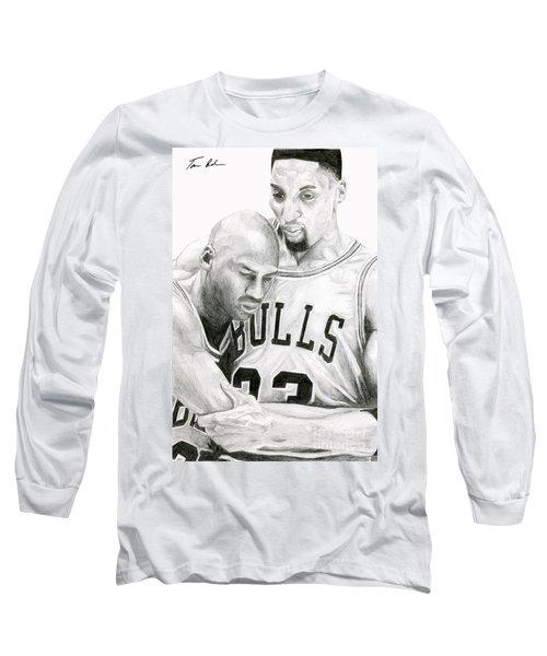 Jordan Will To Win Long Sleeve T-Shirt by Tamir Barkan