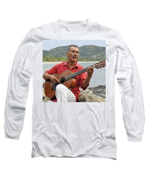 Long Sleeve T-Shirt featuring the photograph Jose Luis Cobo by Jim Walls PhotoArtist
