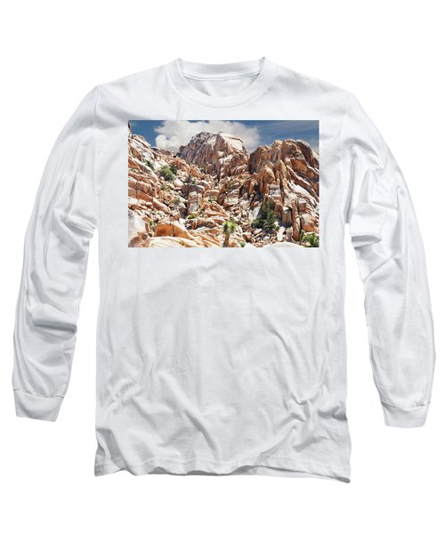 Joshua Tree National Park - Natural Monument Long Sleeve T-Shirt by Glenn McCarthy Art and Photography