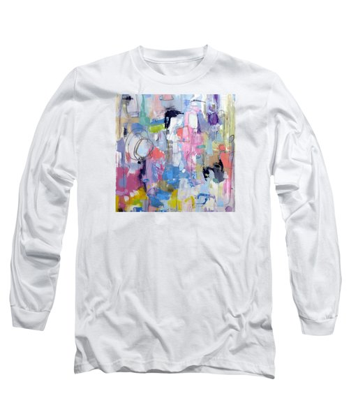 Long Sleeve T-Shirt featuring the painting Journal by Katie Black