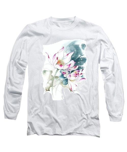 Journey For Two Long Sleeve T-Shirt by Anna Ewa Miarczynska