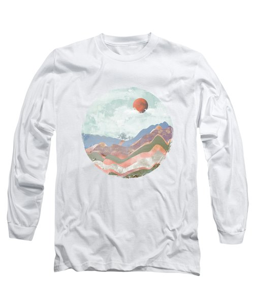 Journey To The Clouds Long Sleeve T-Shirt by Katherine Smit